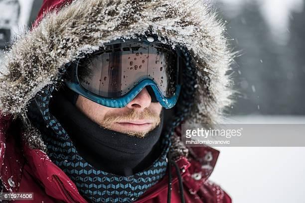 Prepared for snowboarding