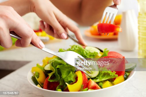 Prepared salad : Stock Photo