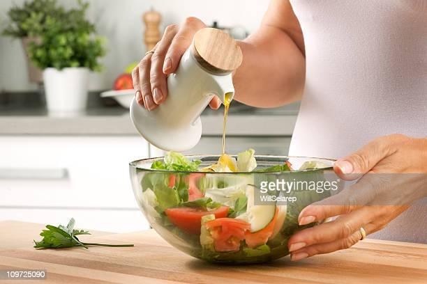 Preparar um salade