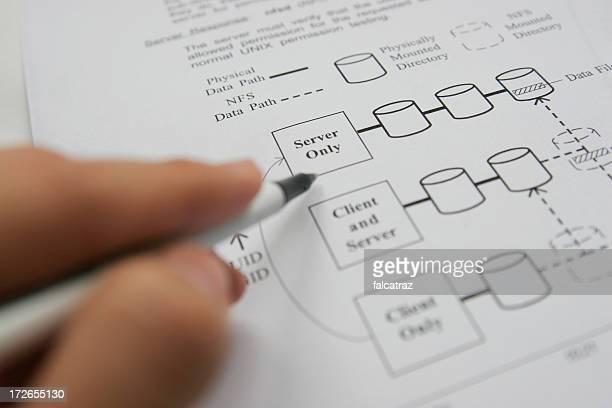 Preparing diagrams