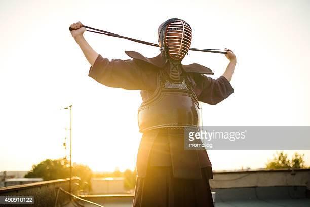 Préparation pour Kendo équipement