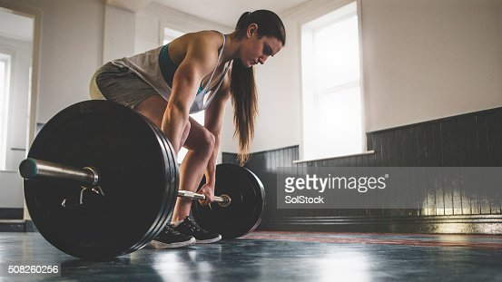 Preparing for a Deadlift