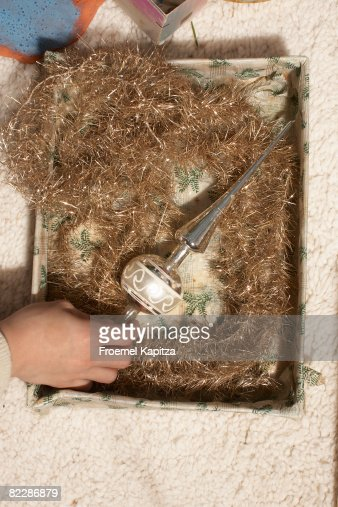 Preparing for Christmas : Stock Photo