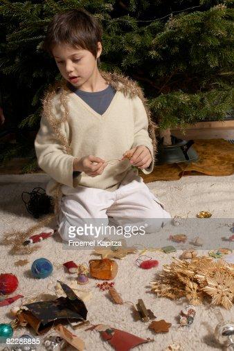 Preparing for Christmas : Stock Photo