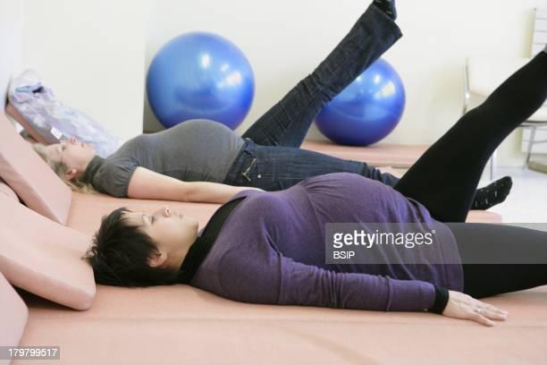 Preparing For Delivery Maternity Ward Rouen hospital France Antenatal yoga class