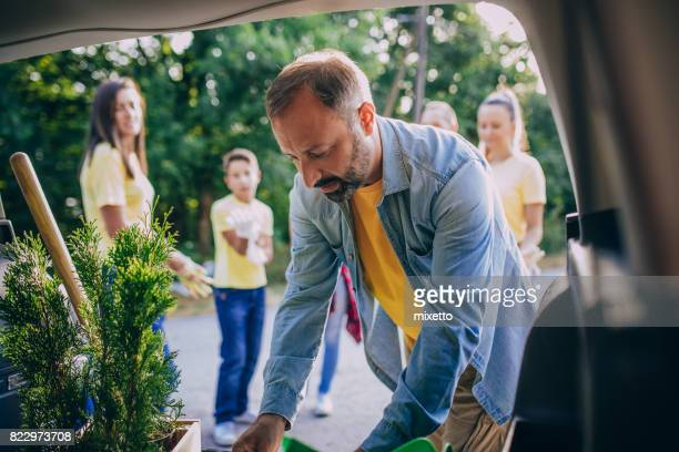 Preparing garden tools
