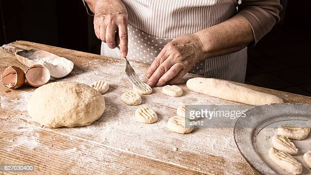 Preparing Homemade Gnocchi