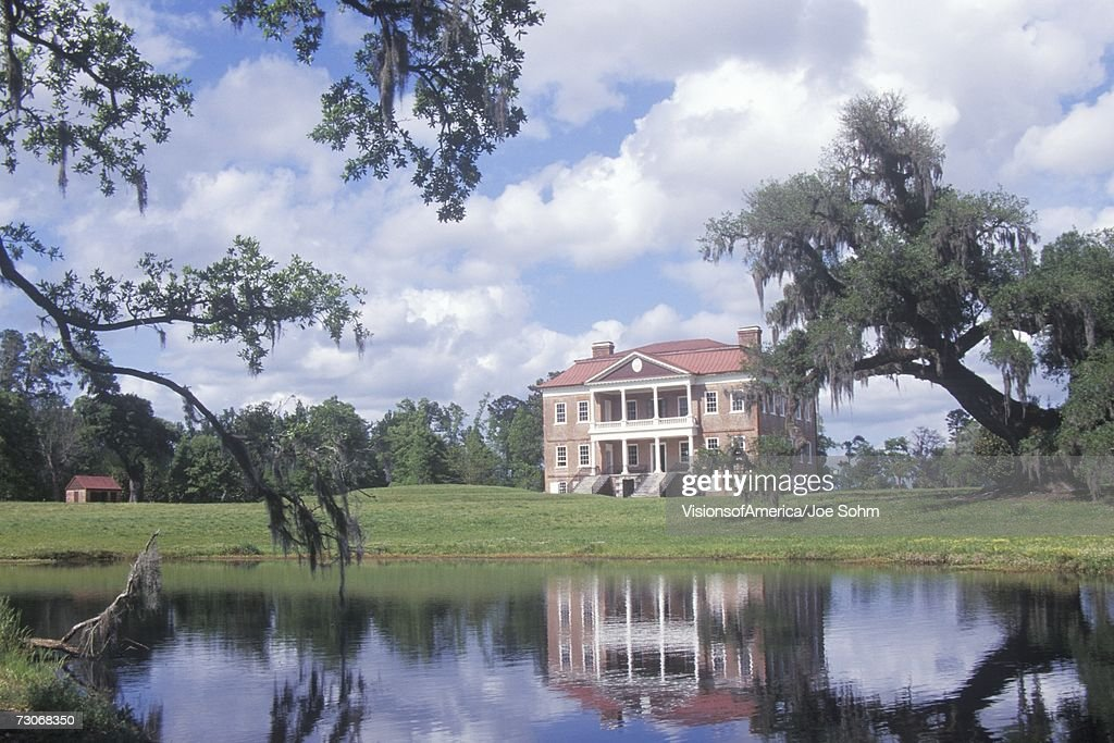 'Pre-Revolutionary War Plantation on Ashley River, Charleston, SC'