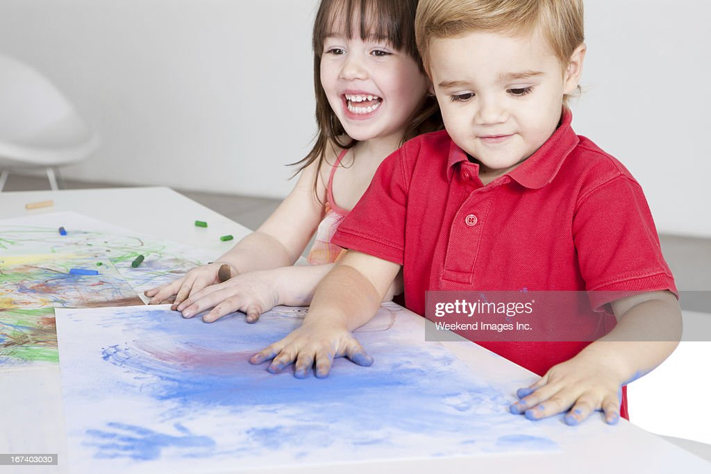 Preschool activity : Stockfoto