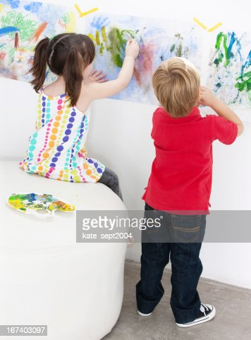 Preschool activity : Stock Photo