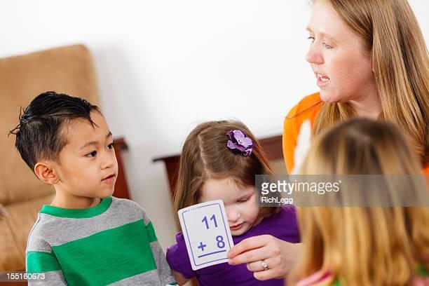保育園の子供、学校のクラス