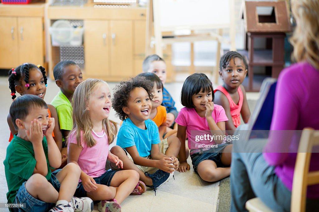 Pre-school children : Stock Photo