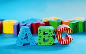 Wooden ABC Letters Standing