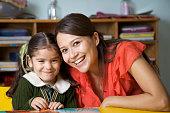 Preschool Teacher in a Classroom