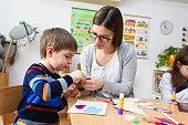 Creative activities with preschool kids