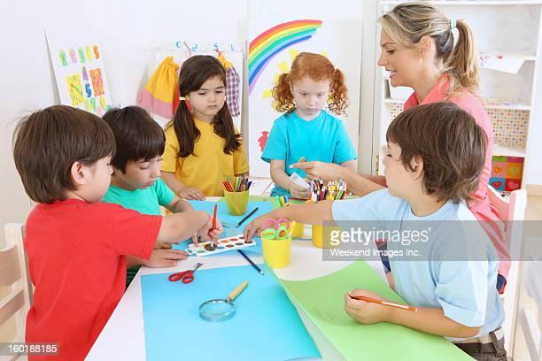 enfants d'âge préscolaire