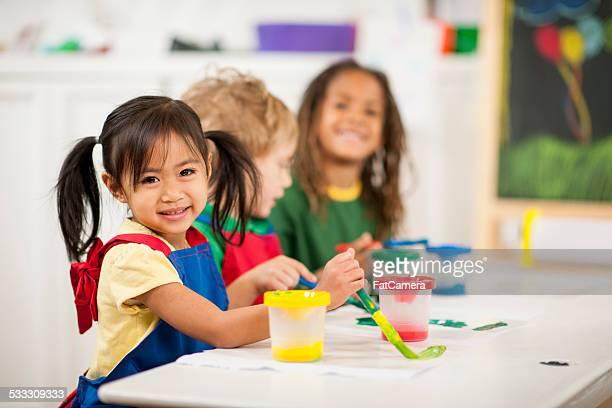 Preschoolers a tocar