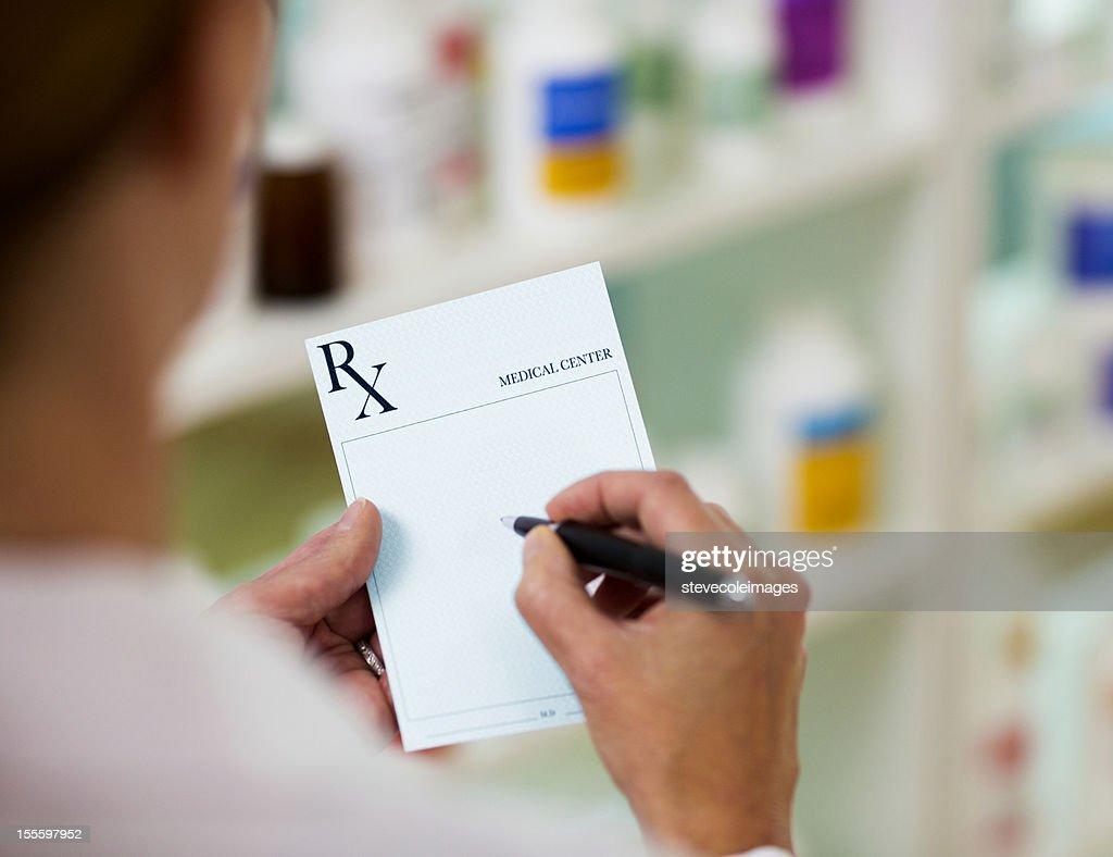 Prescription : Stock Photo