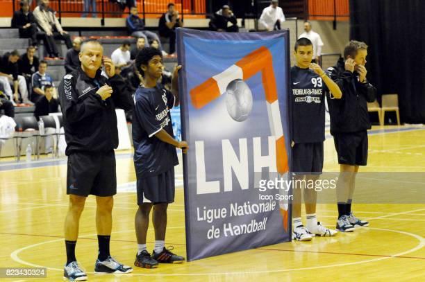 Presentation Banderole Ligue National de Handball Tremblay en France / Nantes 6eme Journee Division 1 Palais des Sports de Tremblay