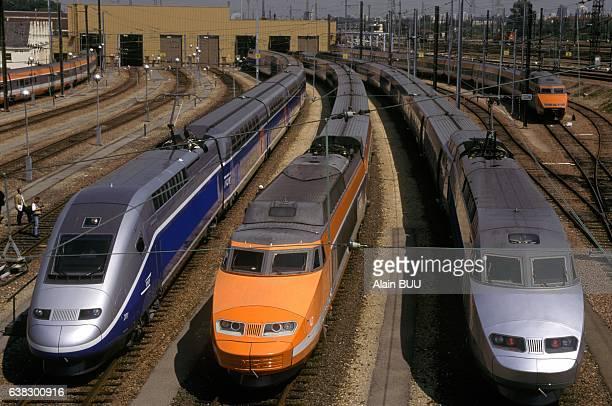 Presentation Of TGV Duplex in Paris France on June 21 1995