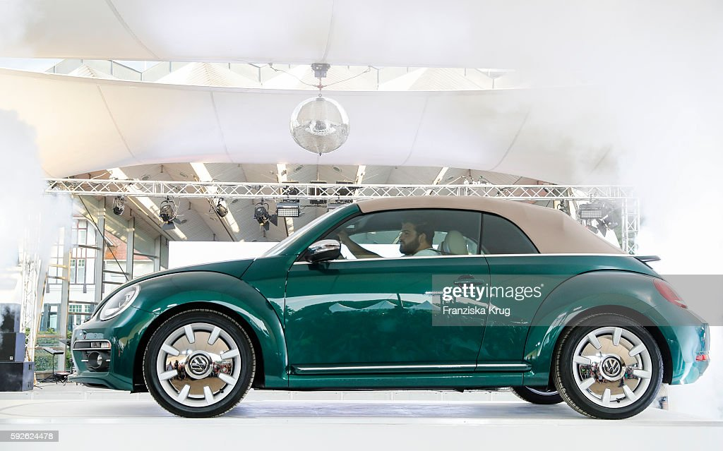 Presentation of the Beetle 2017 during the 12th Beetle Sunshine Tour To Travemuende the 12th Beetle Sunshine Tour on August 20 2016 in Luebeck Germany