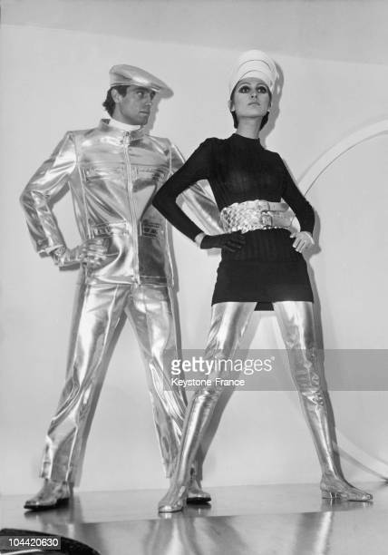 Presentation Of The Cosmocorps Designs One Of The Classics Of The Great Fashion Designer Pierre Cardin The Cosmocorps Line Came Into Being In 196364