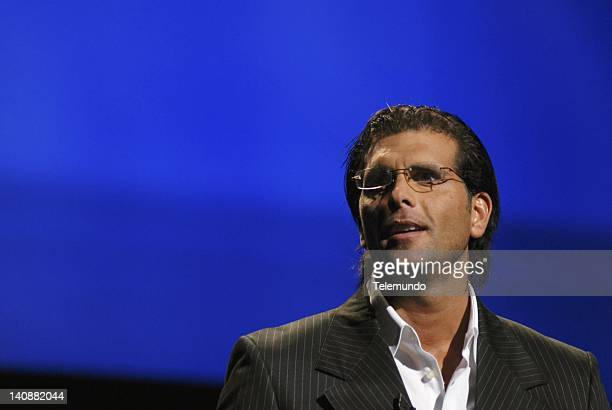 MAY 2007 'Presentation' Pictured Actor Christian Meier star of 'La Tormenta' speaks at Telemundo 'Announcement Presentation' event on May 15 2007...