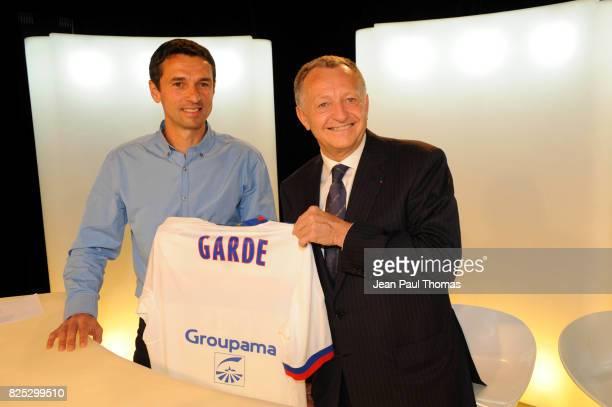 Presentation Remi GARDE / Jean Michel AULAS Studio OL TV Lyon