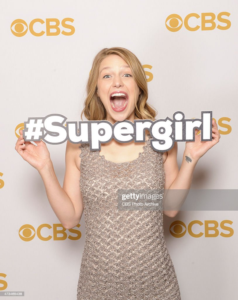 CBS presented its 2015-16prime time schedule today (May 13) at Carnegie Hall, followed by a tented party at Lincoln Center. An array of the Network's new and returning series stars attended both events. Pictured Melissa Benoist