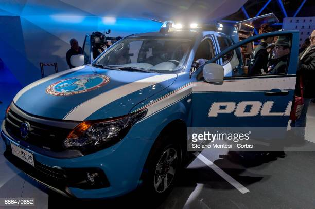 Presented the new fullback for the Scientific Police on December 5 2017 in Rome Italy First of a fleet of 15 vehicles the fullback will be the...
