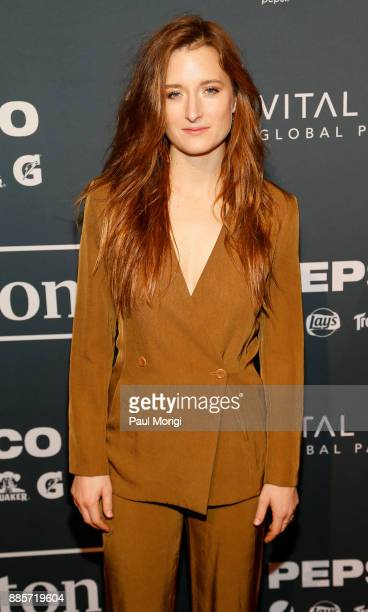 Presenter Actor Activist Grace Gummer attends Vital Voices Global Partnership 2017 Voices Against Solidarity Awards at IAC HQ on December 4 2017 in...
