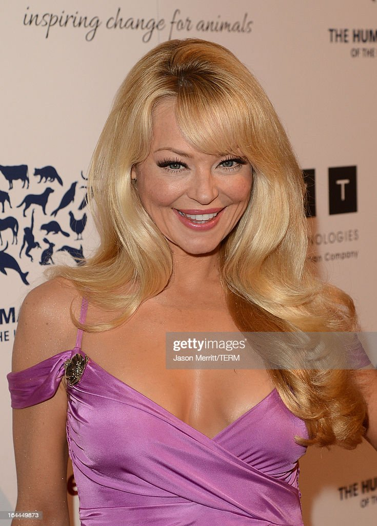 Presenter actress Charlotte Ross attends The Humane Society of the United States 2013 Genesis Awards Benefit Gala at The Beverly Hilton Hotel on March 23, 2013 in Los Angeles, California.
