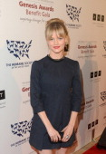 Presenter actress Lindsay Pulsipher attends The Humane Society of the United States 2013 Genesis Awards Benefit Gala at The Beverly Hilton Hotel on...