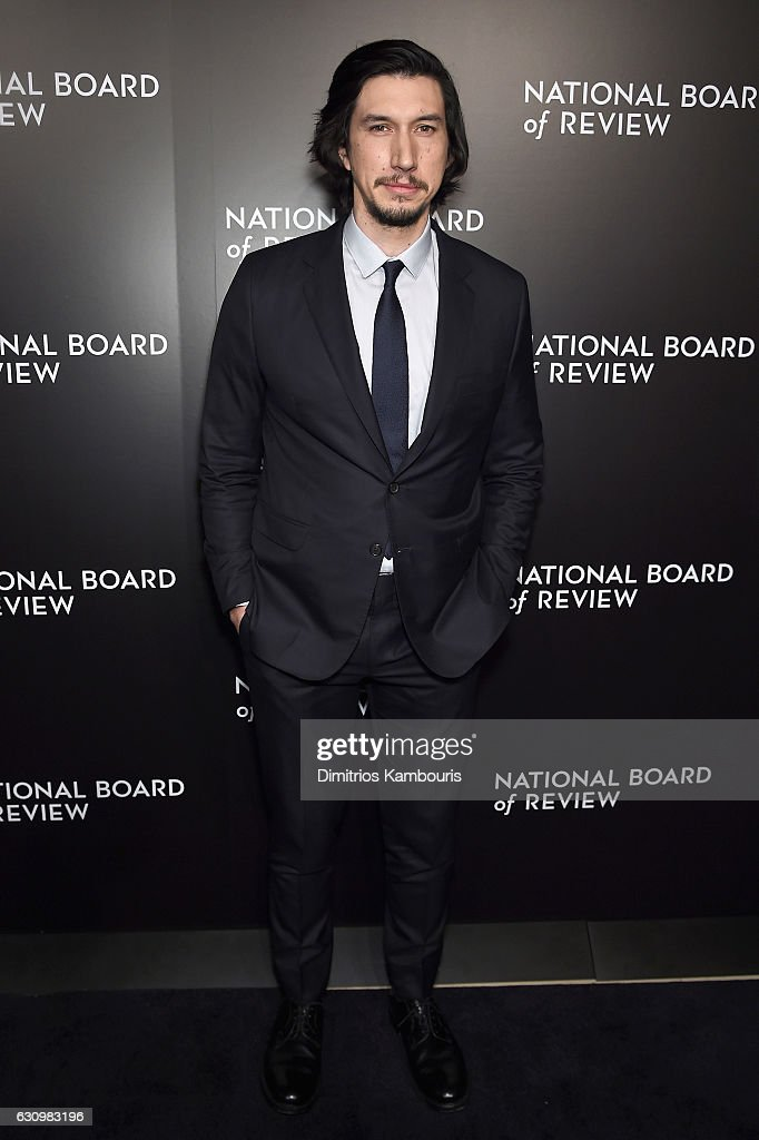 Presenter Adam Driver attends the 2016 National Board of Review Gala at Cipriani 42nd Street on January 4, 2017 in New York City.