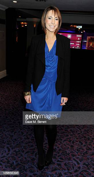 TV Presenter Alex Jones attends the TRIC Television and Radio Industries Club Awards at Grosvenor House on March 8 2011 in London England