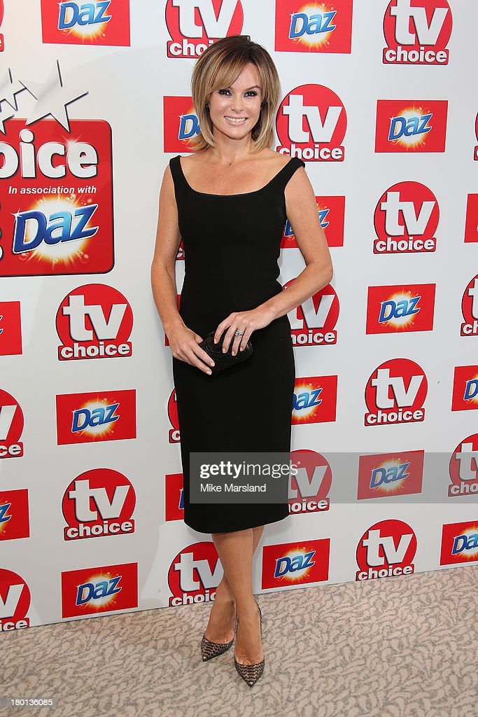 TV Presenter <a gi-track='captionPersonalityLinkClicked' href=/galleries/search?phrase=Amanda+Holden&family=editorial&specificpeople=202922 ng-click='$event.stopPropagation()'>Amanda Holden</a> attends the TV Choice Awards 2013 at The Dorchester on September 9, 2013 in London, England.