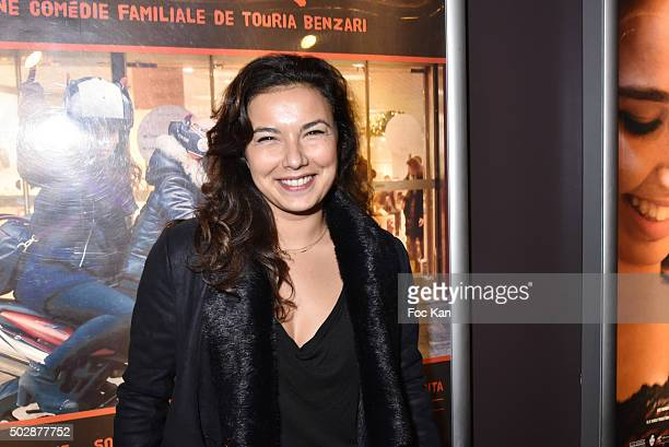 TV presenter Anais Baydemir attend 'Ta Mere' Premiere at Cinema des Cineastes on December 29 2015 in Paris France