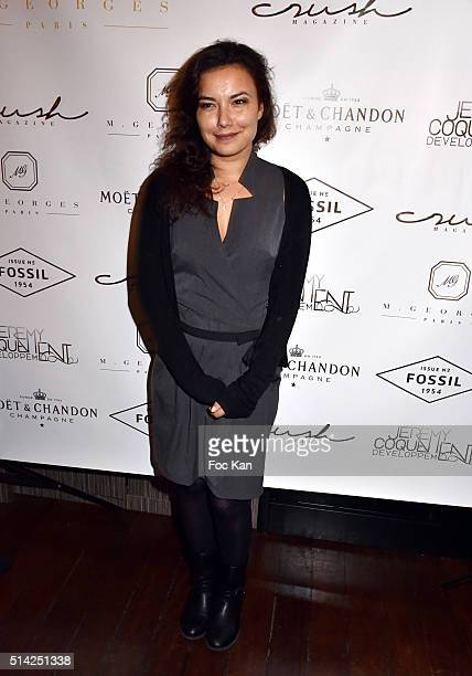TV presenter Anais Baydemir attends the 'MGeorges Restaurant' Opening Party Paris Fashion Week Womenswear Fall/Winter 2016/2017 on March 7 2016 in...