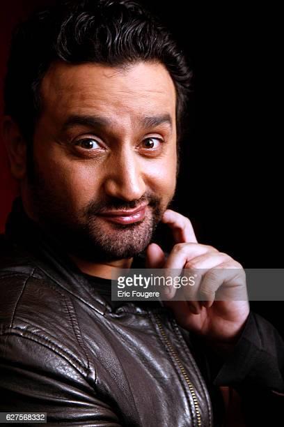 Presenter and Humorist Cyril Hanouna Photographed in PARIS