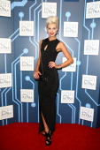 Presenter and model Kate Peck arrives at the 12th ASTRA Awards at Carriageworks on March 20 2014 in Sydney Australia