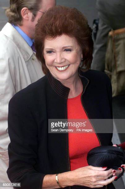 TV presenter and singer Cilla Black arrives for The Mirror's Pride of Britain Awards at the London Hilton Hotel in Park Lane central London The event...