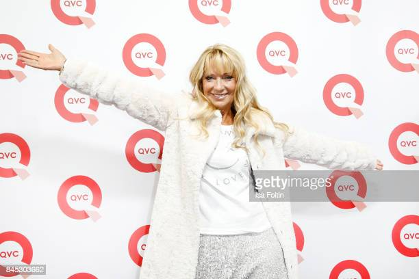 QVC presenter Angie Herzog attends a QVC event during the Vogue Fashion's Night Out on September 8 2017 in duesseldorf Germany