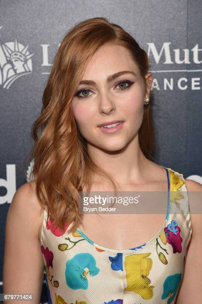 Presenter AnnaSophia Robb attends 28th Annual GLAAD Media Awards at The Hilton Midtown on May 6 2017 in New York City
