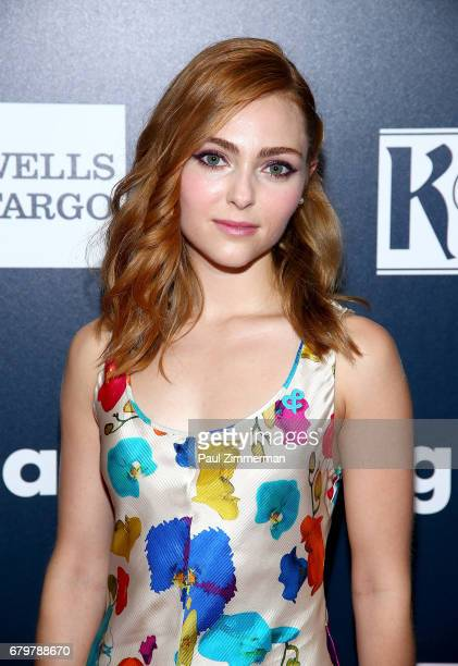 Presenter AnnaSophia Robb attends the 28th Annual GLAAD Awards at New York Hilton Midtown on May 6 2017 in New York City
