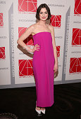 Presenter Anne Hathaway attends the 19th Annual Art Directors Guild Excellence In Production Design Awards at The Beverly Hilton Hotel on January 31...