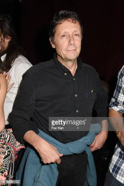 TV presenter Antoine de Maximy attends 'Le Temps Retrouve' Party at Les Bains on November 17 2017 in Paris France