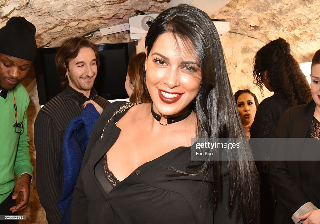 TV Presenter Ayem Nour From Mad Mag NRJ12 TV Attend LA Girl Paris Cosmetics  Launch And