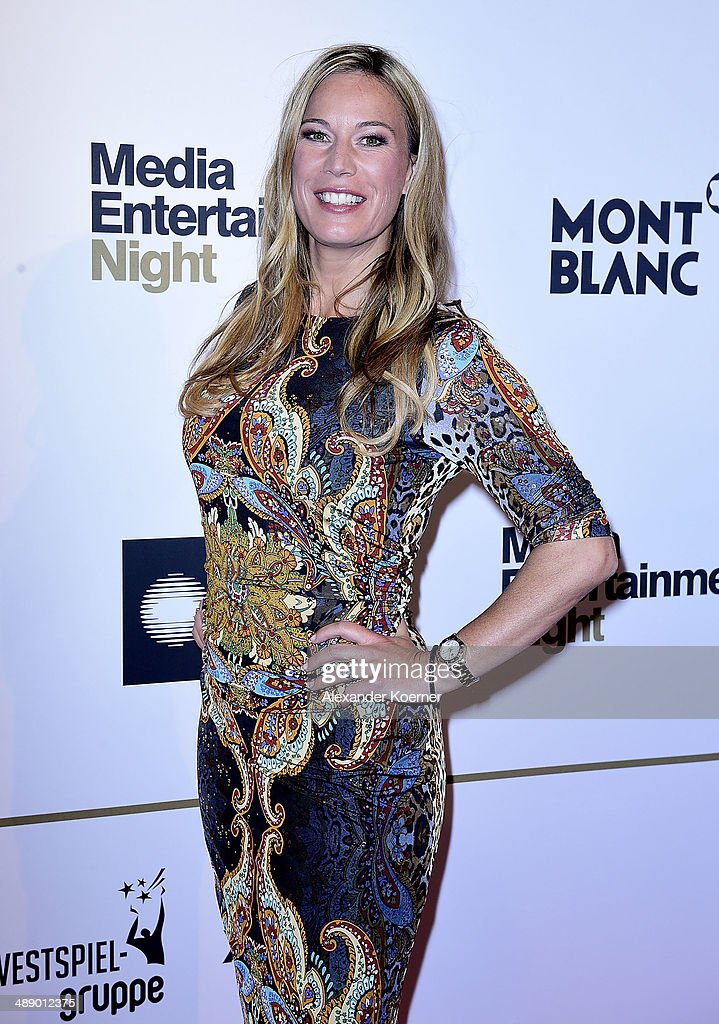 TV presenter Birgit von Bentzel attends the Media Entertainment Night at Hotel im Wasserturm on May 9, 2014 in Cologne, Germany.