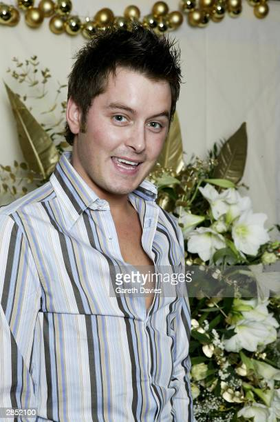 TV presenter Brian Dowling attends The Great Ormond Street Hospital Charity Fundraiser on December 14 2003 at the Grosvenor House Hotel in London