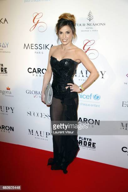 Presenter Capucine Anav attends Global Gift Gala 2017 at Hotel George V on May 16 2017 in Paris France